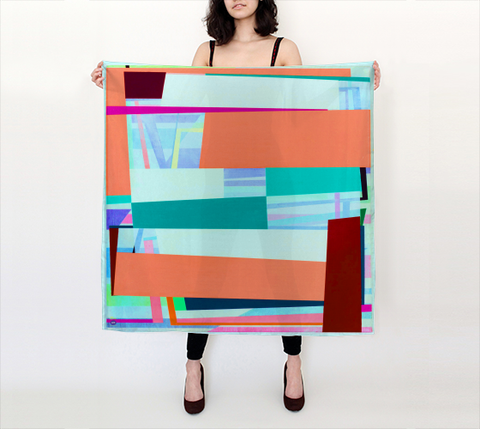Gary Petersen Scarf - Big Square I
