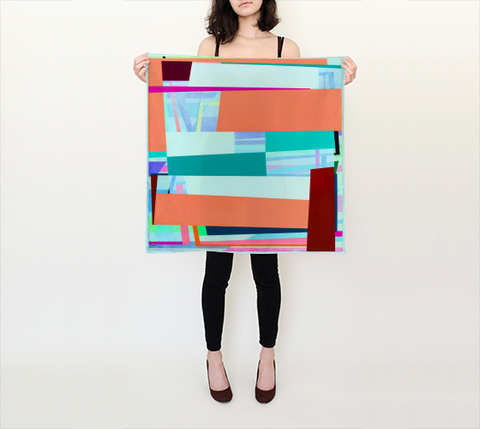 Gary Petersen Scarf - Square I