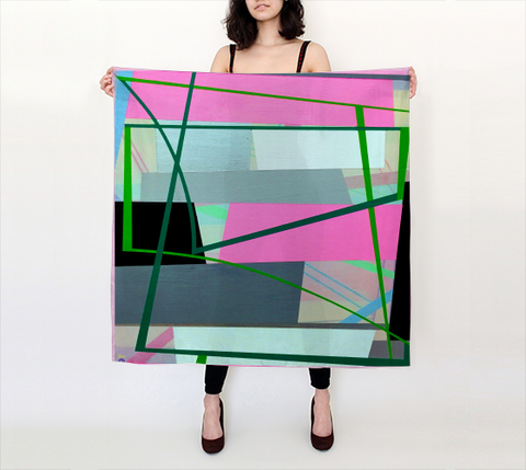Gary Petersen Scarf - Big Square II