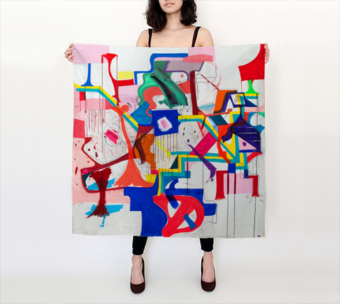 Joanne Greenbaum Scarf - Big Square