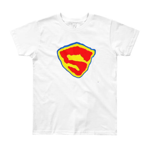 Katherine Bradford T-Shirt - Youth - Superhero Emblem