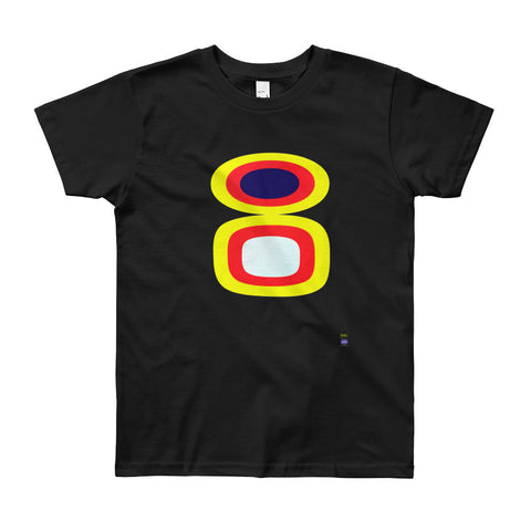Beverly Fishman T-Shirt - Youth - Black / Stack Emblem