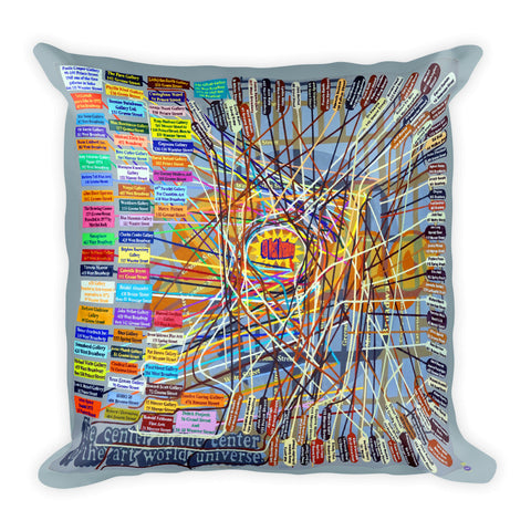 Loren Munk Square Pillow (Soho)