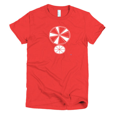 Cary Smith T-Shirt - Women's -  Red T / White Emblem