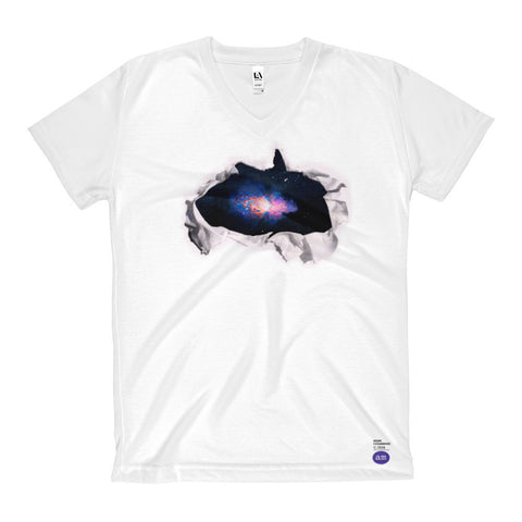 Adam Cvijanovic T-Shirt - Women's V-Neck -  galactic vista