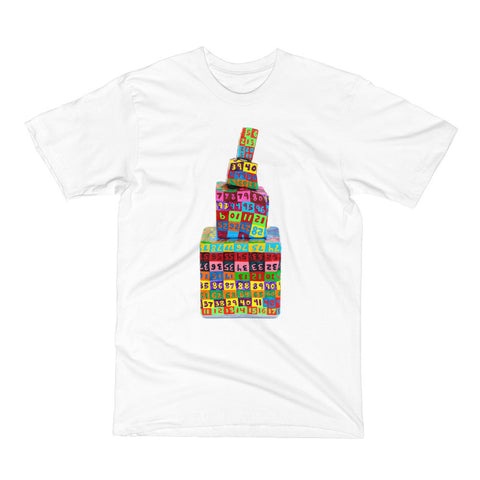 John O'Connor - Men's/Unisex T-Shirt - Rainbow Mountain