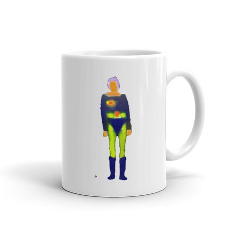 Katherine Bradford Mug - Older Female Superhero