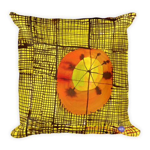 Eric Brown Square Pillow