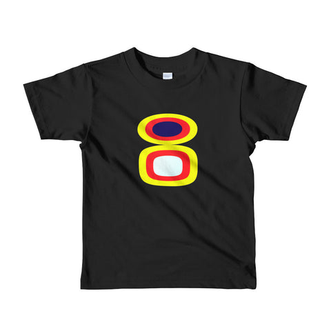 Beverly Fishman T-Shirt - Kids - Black / Stack Emblem