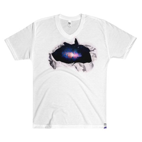 Adam Cvijanovic T-Shirt - Men's/Unisex  V-Neck - galactic vista