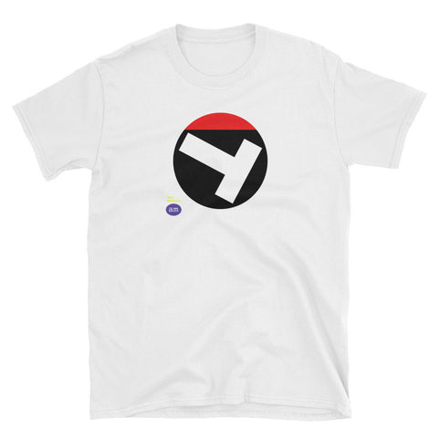 ALT-TRUMP T-SHIRT BY TOM MCGLYNN - UNISEX - WHITE-BLACK-RED VERSION