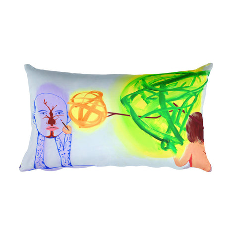 David Humphrey Pillow - Long