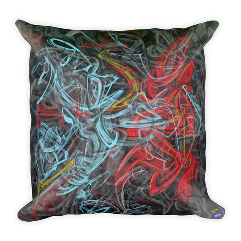 Stephen Pusey Pillow I - Square - En Passant