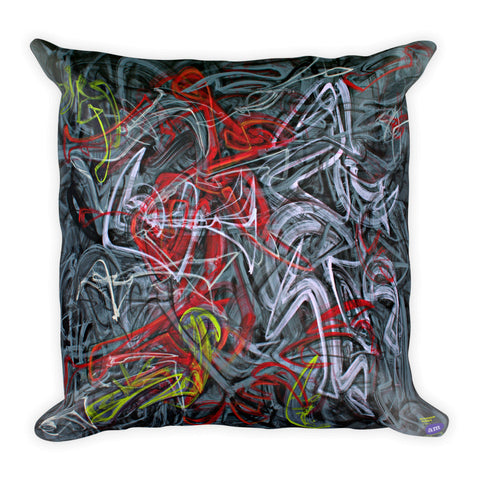 Stephen Pusey Pillow II - Square - En Passant