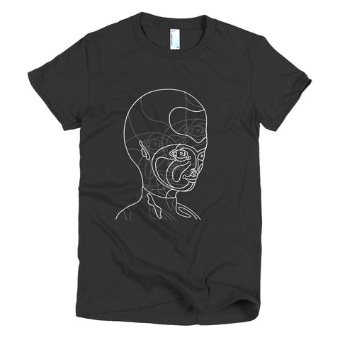 Doug Henders T-Shirt - Women's -  Believe / White Version on Darker T's