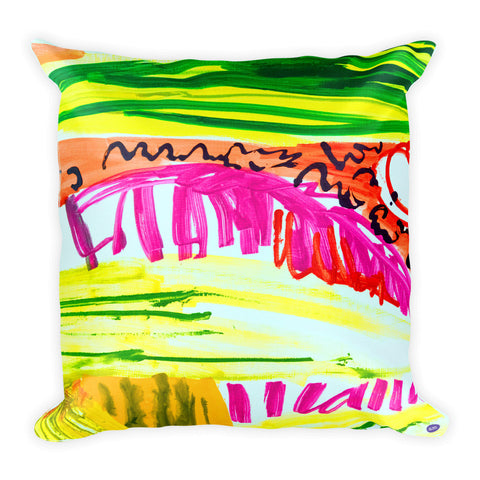 Natalie Westbrook Pillow I - Square