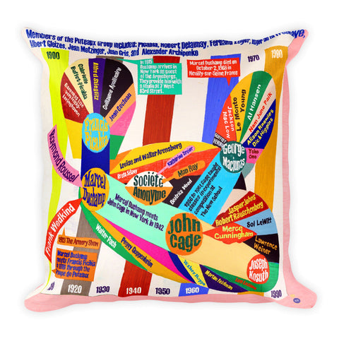 Loren Munk Pillow - Square - Puteaux