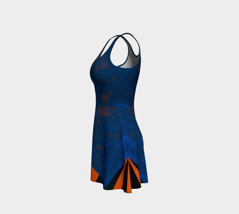 Richard Caldicott Flare Dress III