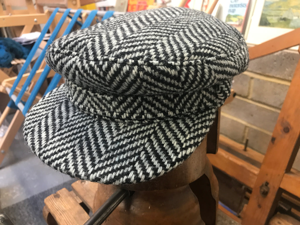 Rock-a-nore tweed breton caps are here.