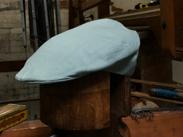 Sussex Tweed linen cap