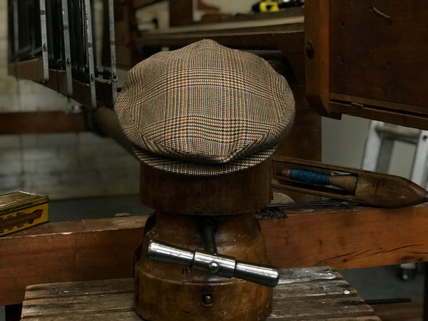 Sussex Tweed limited edition tweed cap