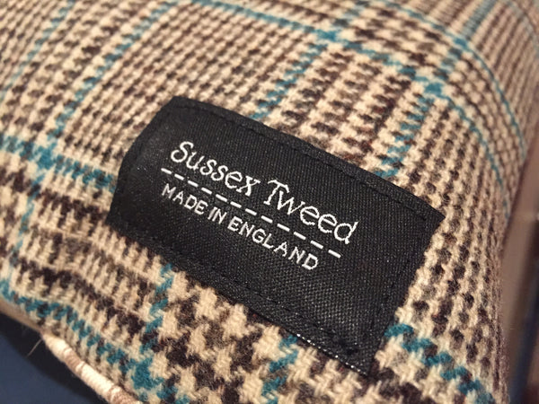 Checked Sussex Tweed Cushions for Sale