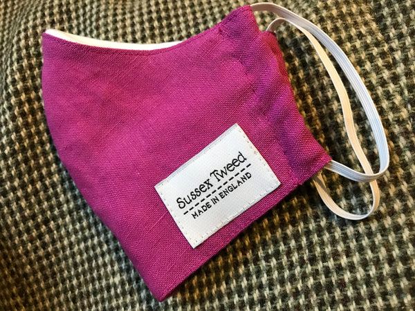 Sussex Tweed Reusable Face Mask for Sale