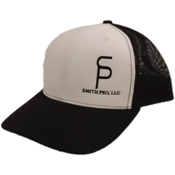 SmithPRO White/Black Trucker Hat