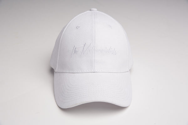 TM White Logo Cap