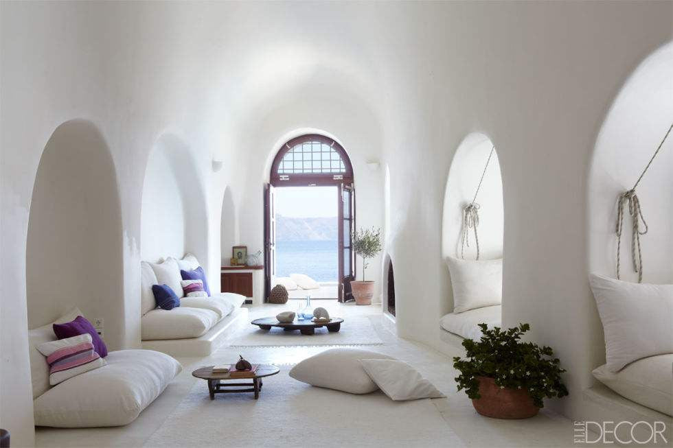 White on white is hard to get right - here's how the Greeks do it!