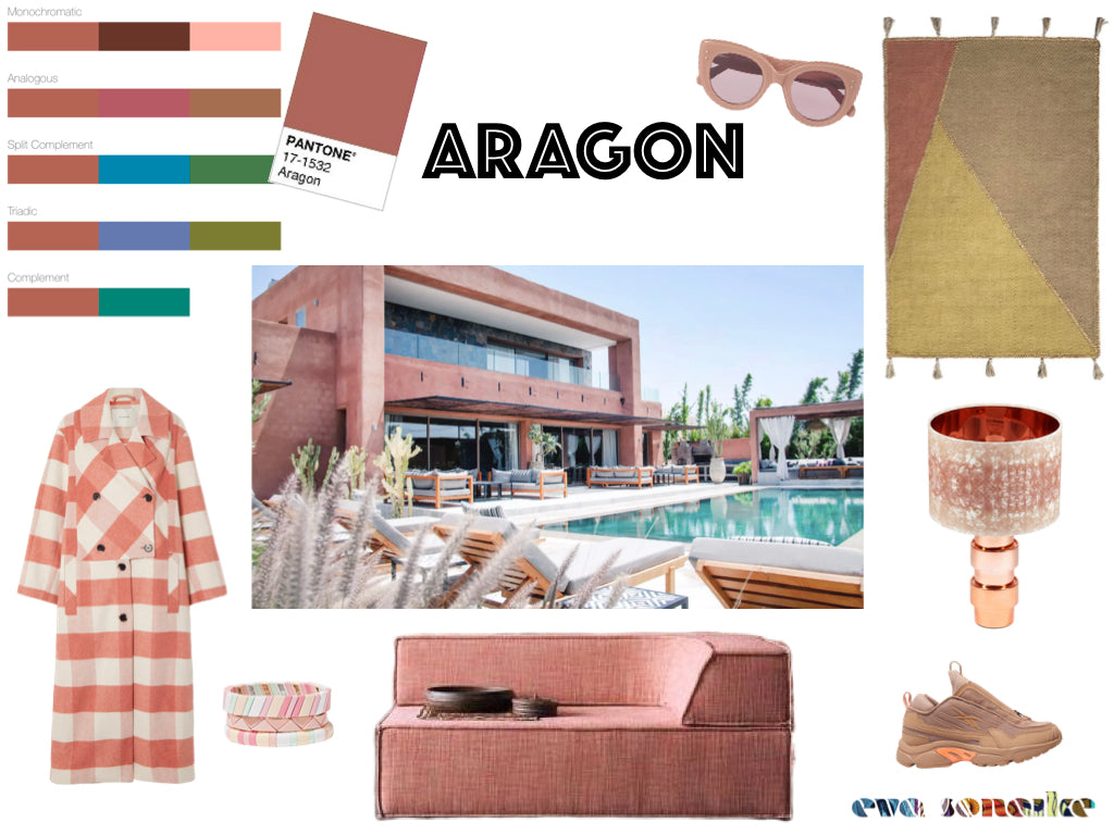Pantone's Aragon and how to use it in interiors