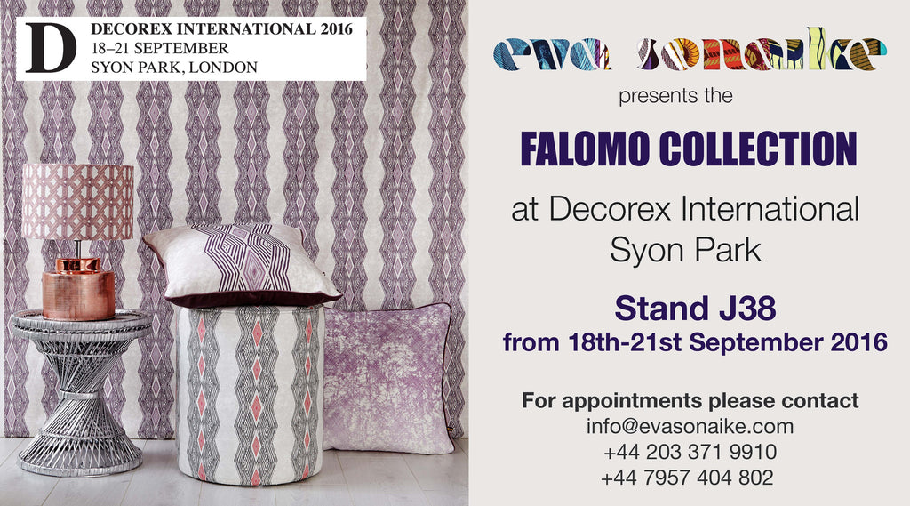 Come and visit us at Decorex