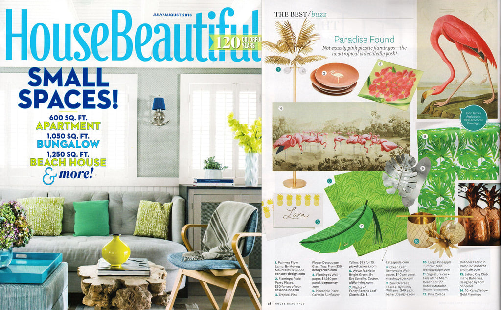 House Beautiful - July/August 2016