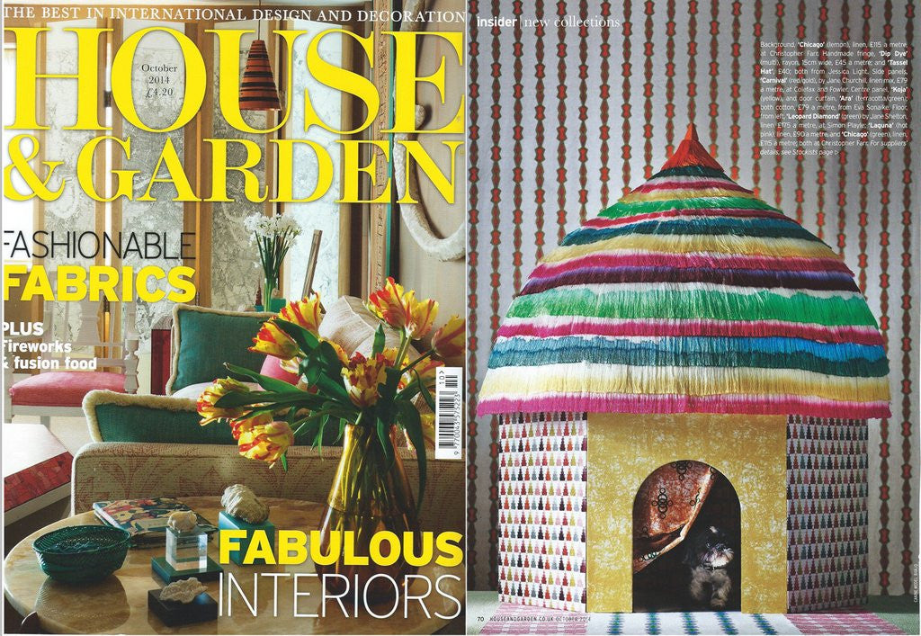 Our Eko Eklipse Fabrics in House & Garden
