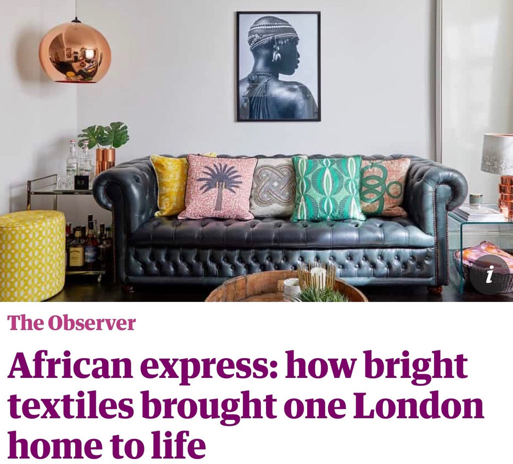 My home in the Observer Magazine
