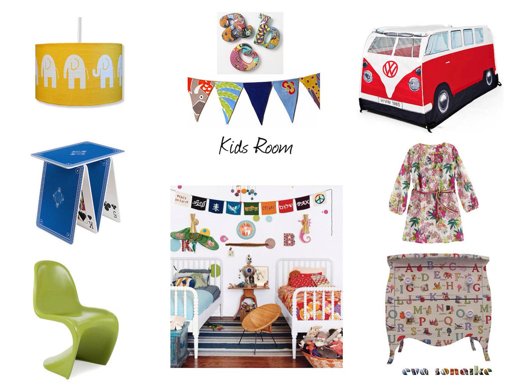 October: Kids Room