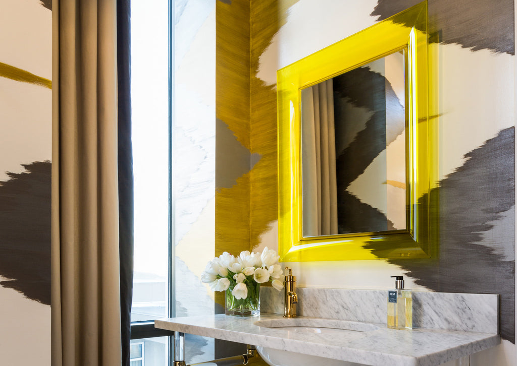 How to Add Colour To Your Bathroom