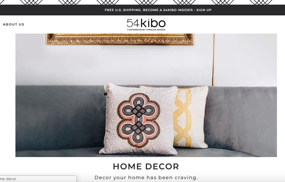 54Kibo: The New Home of African Design