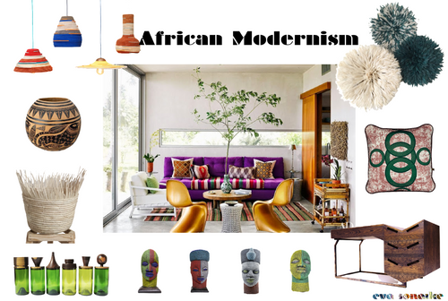 African Interiors and African Home Decor