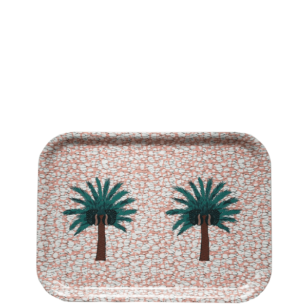 Aburi Tea Tray Pink