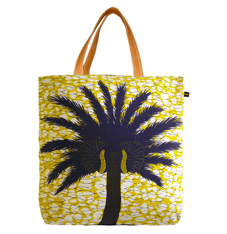 ABURI Shopper Bag Yellow