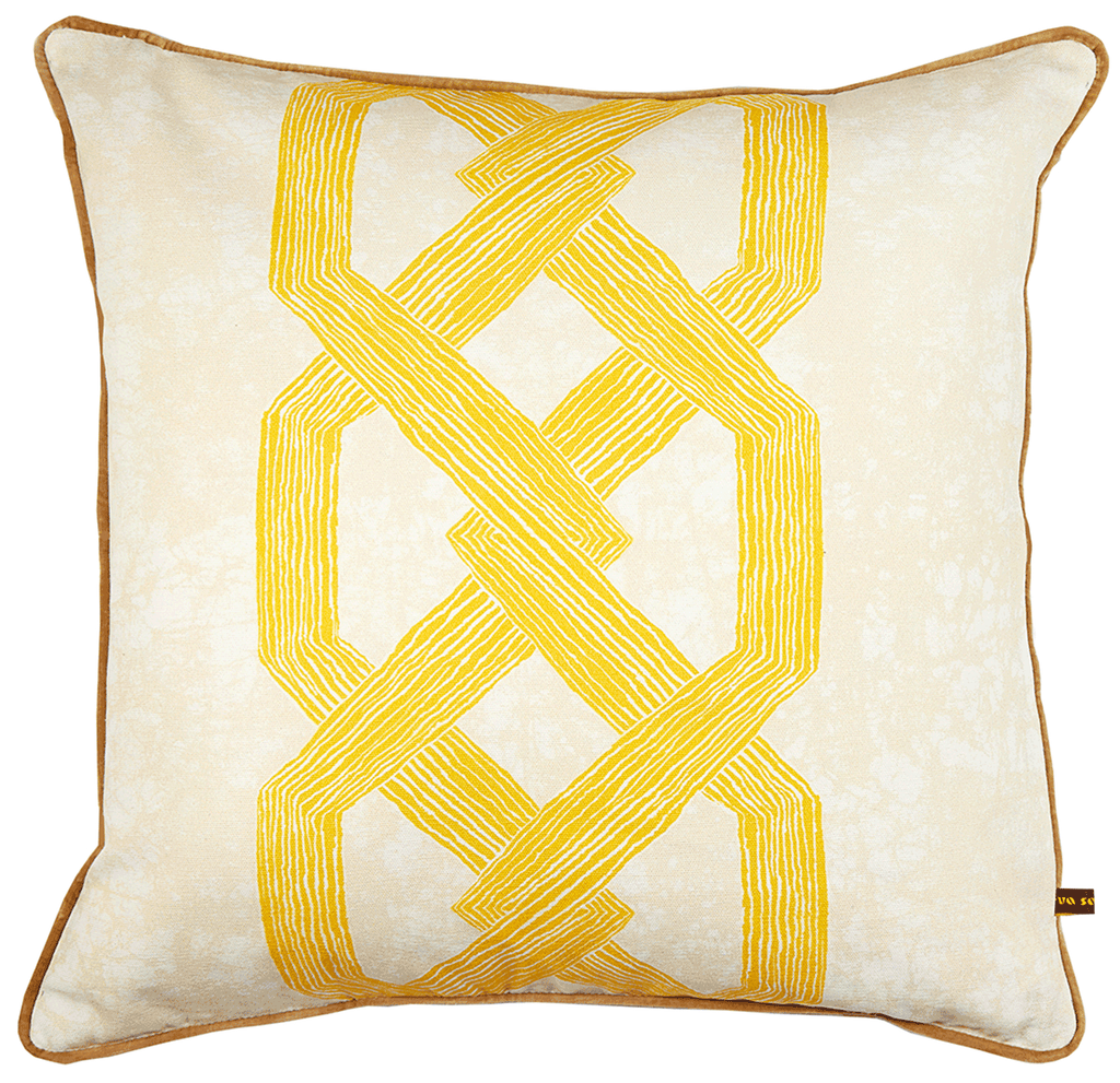 Aluro Cushion Yellow