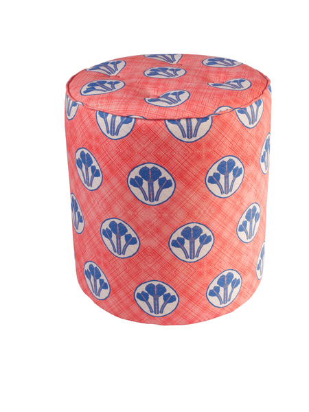 Erin Pouffe Red