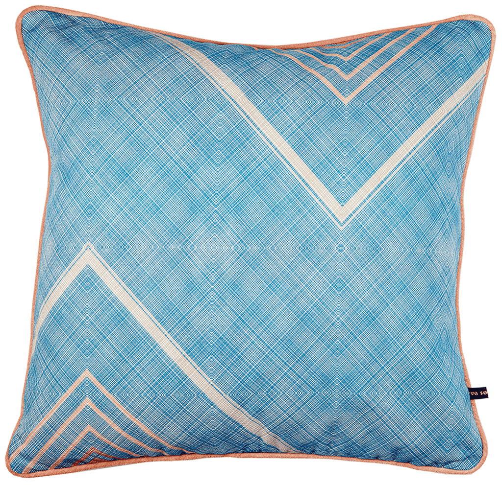 Iri Cushion Blue