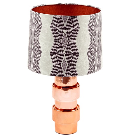 Odi Purple Lamp shade