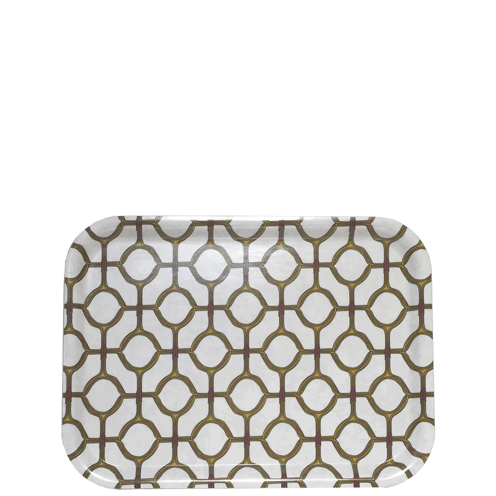 Ojo Tea Tray Yellow