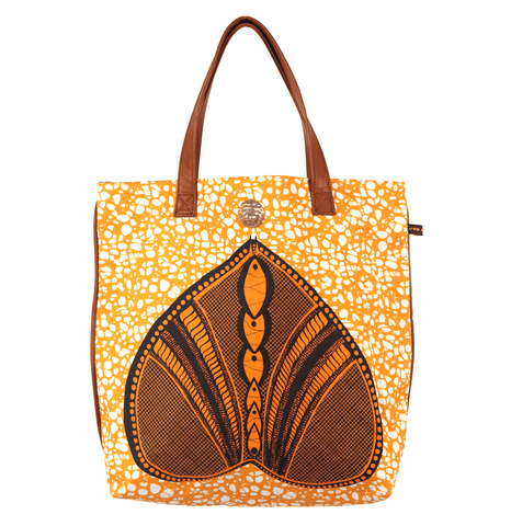 OKAN Shopper Bag Yellow