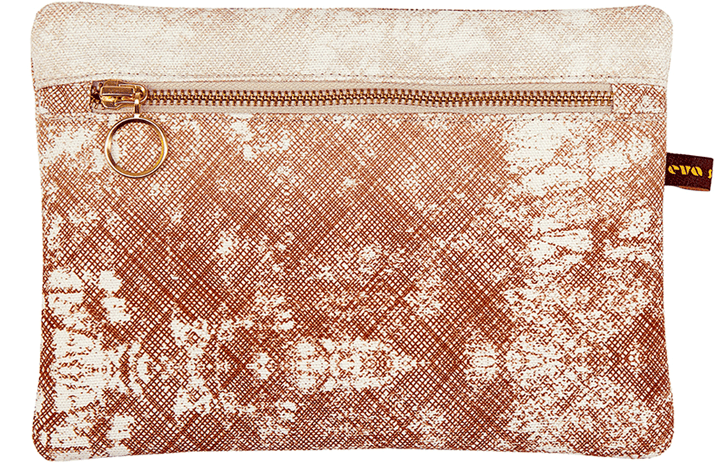 Okuta Make-up Bag Copper