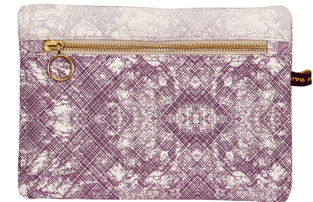 Okuta Make-Up Bag Purple