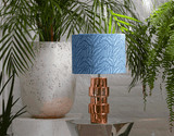 Wewe Lamp Shade Blue